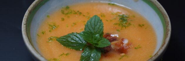 Sopa De Melon Fria Cocina California